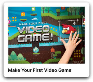 Make your first video game poster