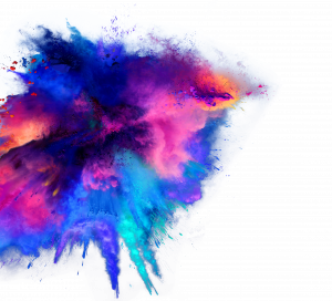 Black Rocket colorful stock image