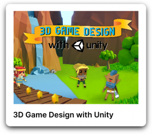 3D game design with unity poster