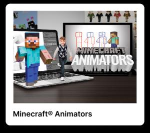Minecraft animators poster