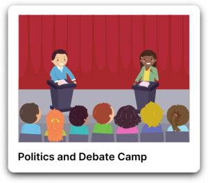 Politics and debate camp