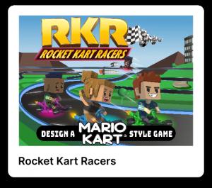 Rocket kart racers poster