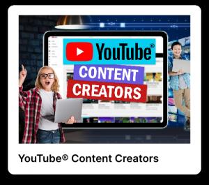 Content creators poster